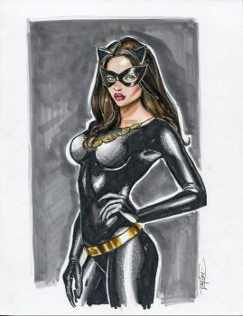 Classic Catwoman by Artfulcurves