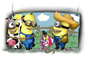 Minion Rodeo by BreeMarieRae