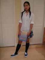 Private School  Girl 42 by imagine-stock