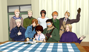 History Class After Hetalia by Talawolf2014