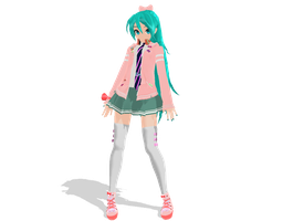 DT Ribbon Girl DL by AlexIsDeadddx