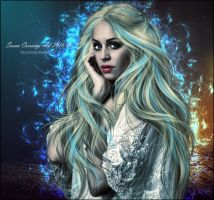 Blue Flame Fantasy by SuzieKatz