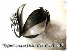 10 Side Yin Yang Globe by geodotka