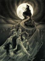 Dracula's Brides by MadLittleClown