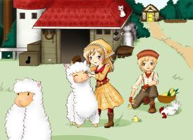 Harvest Moon TOTT by Axel-desu