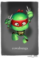 Bubblehead: Raph by JeffVictor