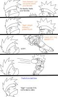 Kakashi's Mask Part 3 by xmizuwaterx