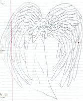 Character Idea Sketch Angel by Lovely-Mistaken