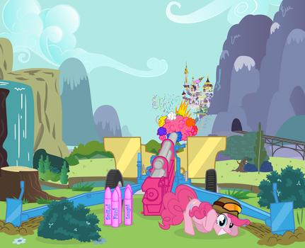 Pinkie Party Artillery by CheshireTwilight