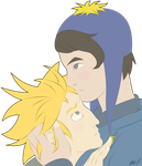 Craig x Tweek by PorcelainBitch