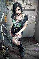 Goth Girl by CradleOfDoll