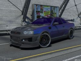 Nissan Skyline GTR Tuning B by cipriany