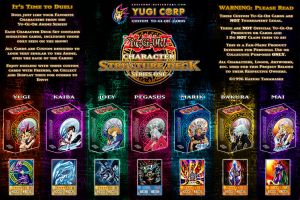 Character Structure Decks - Complete Poster UPDATE by YugiCorp