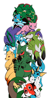 Pokemon Sleeve 10 by H0lyhandgrenade