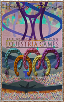 MLP : Equestria Games - Movie Poster by pims1978