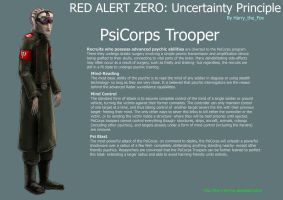 RA2 Mod- PsiCorps Trooper by Harry-the-Fox