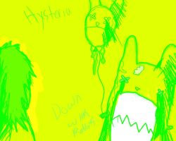 Hysteria Down with rabbit's by LtPokeharo