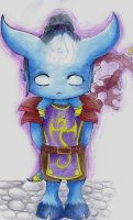 Little Draenei by Drrrakonis