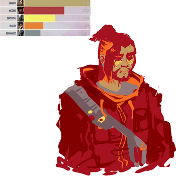 hanzo color meme by wunking