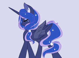 Princess Luna by LazzyBon