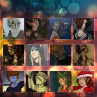 art summary meme:2013 by Kler-z