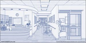 Hospital BluePrinted by zoomzoom