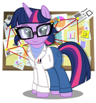 Rainbow Rocks Science Freaking Unicorn by PixelKitties