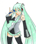 Hatsune Miku Colours by fosskers