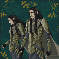 The Princes of Imladris by MellorianJ