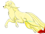 Majestic Ninetails by AceHeartLove