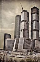 Moscow City Business Center by Amikron