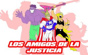 The Justice Friends by greatpunch10