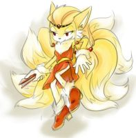 Topaz the Ninetails by Blailver