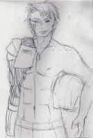 Shirtless Private Simmons by StolenThunder