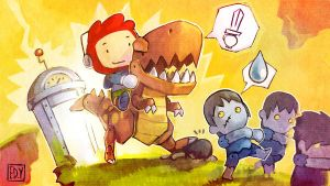 Scribblenauts by ushio18