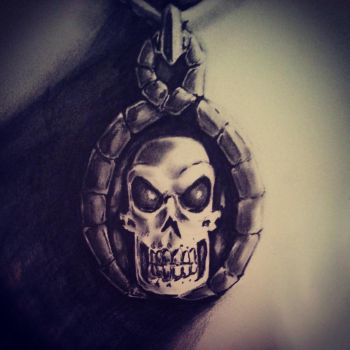 Skull Amulet by R053DR4GON