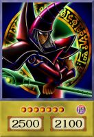 Red Dark Magician (Arcana) by PlayStationScience