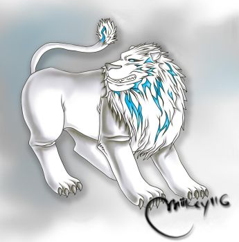 White Lion by Miikey116