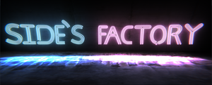Side's factory neon logo by MrSide