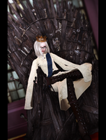 King on the Iron Throne by Wt-Jok