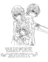 Vampire Knight FanArt by SHINeeHello
