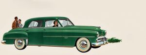 age of chrome and fins : 1951 Dodge by Peterhoff3