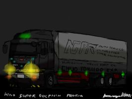 Hino Profia Night version by ngarage