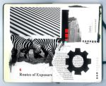 'Exposure in Art' Moleskine Spread by phenoxa
