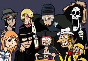 one piece halloween by DOR20