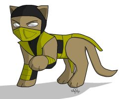 Scorpion Kitty by wachey