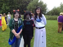 Comicon #7- Nepeta, Terezi and Jade by T0KiBUTT