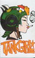 Tank Girl for James by K8lynProverbs