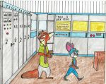 Nick and Judy on trip in Hamsterland's RadioTV  Re by Hamster56