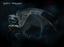 Death dragon by Anutwyll